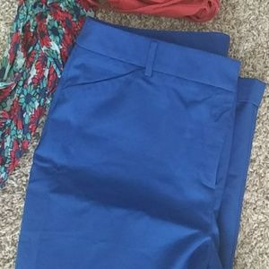 Chicos cropped cuffed trousers